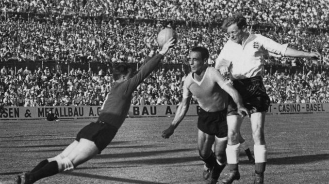 Inglaterra vs Uruguay Mundial 1954.