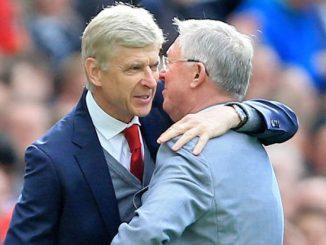 Arsène Wenger y Alex Ferguson.