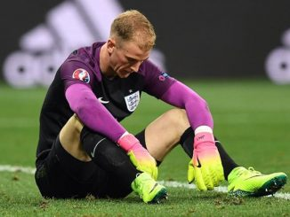 Joe Hart no estará con Inglaterra en el Mundial de Rusia.